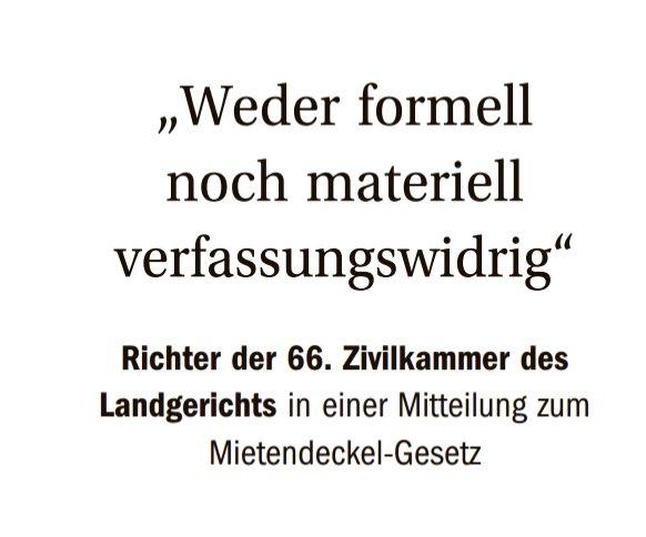 Erster Tag nach dem Urlaub. Erste gelesene Meldung in der @berlinerzeitung. So kommt man gerne zurück. #Mietendeckel #mietenwahnsinnstoppen https://t.co/9YikLcIltL