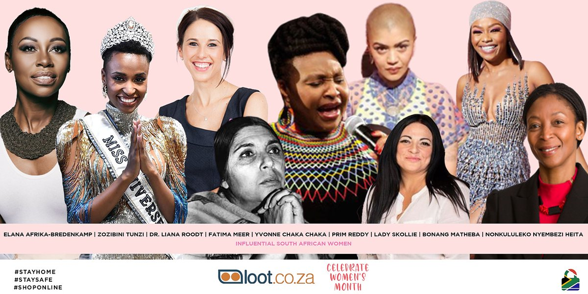 Lootcoza On Twitter It S Women S Month We Are Celebrating All Things Women Tell Us Who Is The Most Influential Sa Woman In Your Life You Could Stand A Chance To Win