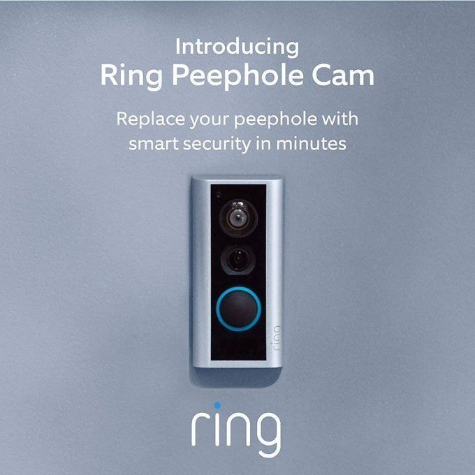 STEAL!!  Ring Peephole Cam for $89.99! *price updates at checkout  2