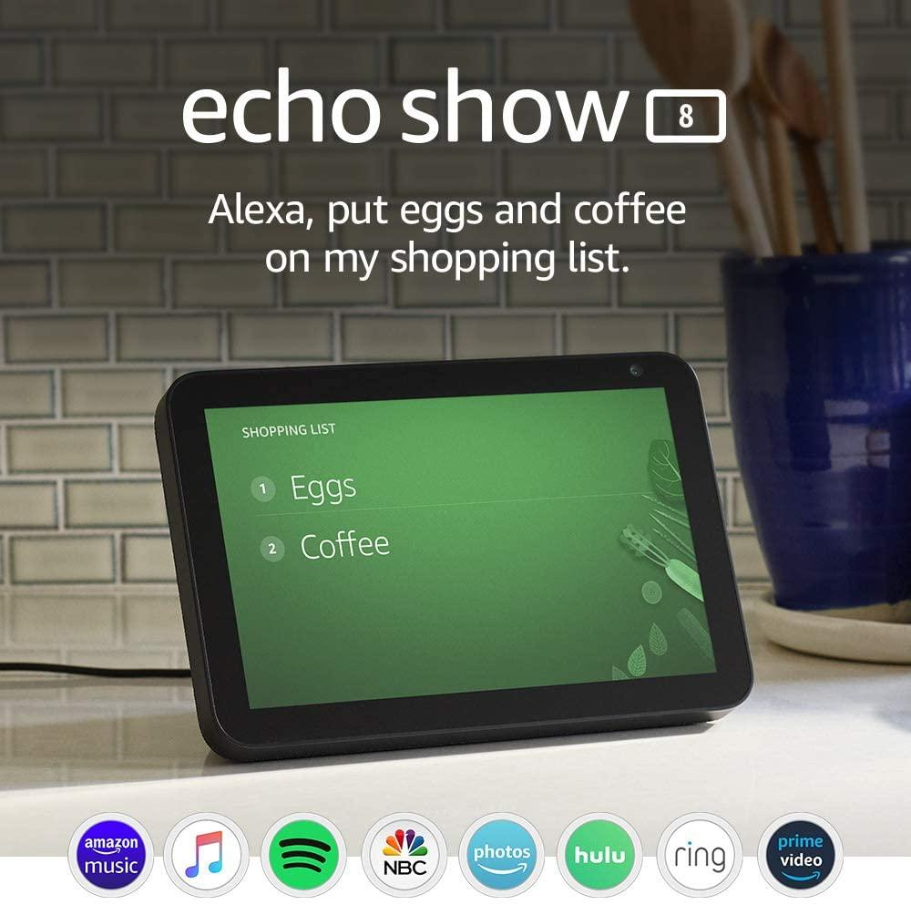 DEAL!!  Amazon Echo Show 8  Price: $89.99 - 31.0% OFF! Retail: $129.99 Link: 2   #ROTODEALS