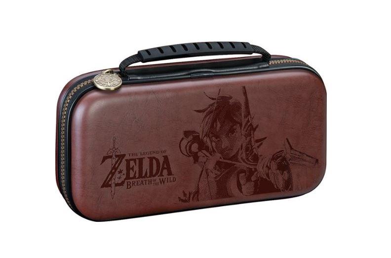 Zelda Game Traveler Deluxe Travel Case for Nintendo Switch Lite $9.99 via Best Buy. 2