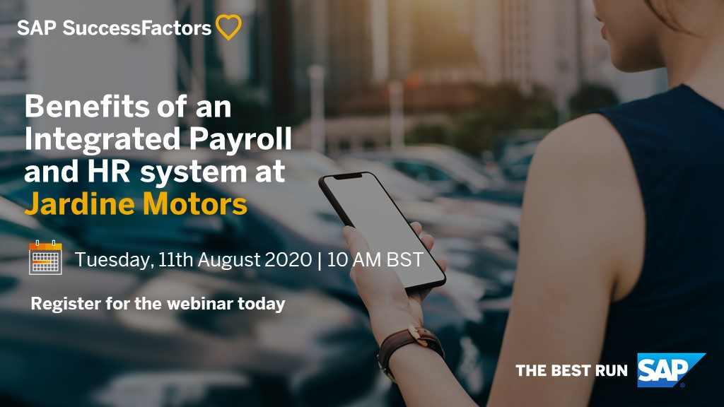 Clare Martin, winner of the HR category in AutoCar's Top 100 Great British Women, will share insights into how @jardinemotorsuk improved #employeeexperience and realised significant cost savings through integrated #HR and payroll.   Register here: ➡️ https://t.co/sbKxezYIZe https://t.co/UMt4DcHN8z