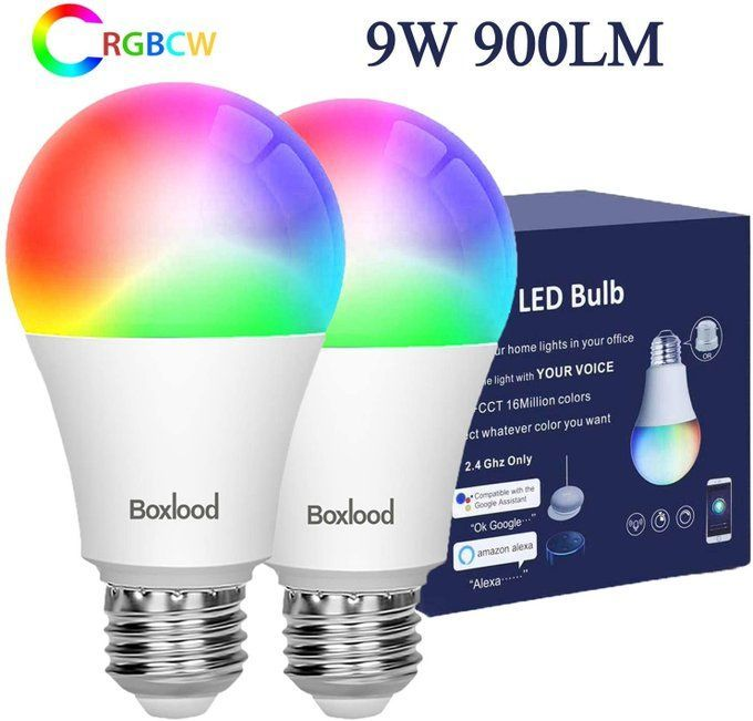 STEAL!!  2 pack of Smart Wifi Bulbs, only $13.49!!  Save 50% with promo code 50ZU78L9