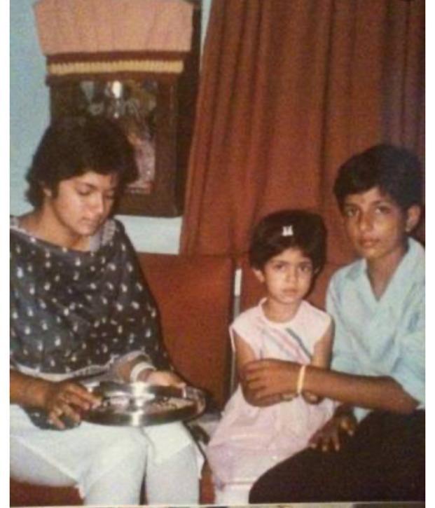 My world❤️💙.Happy Raksha Bhandhan Mona and Gunnu 🏆