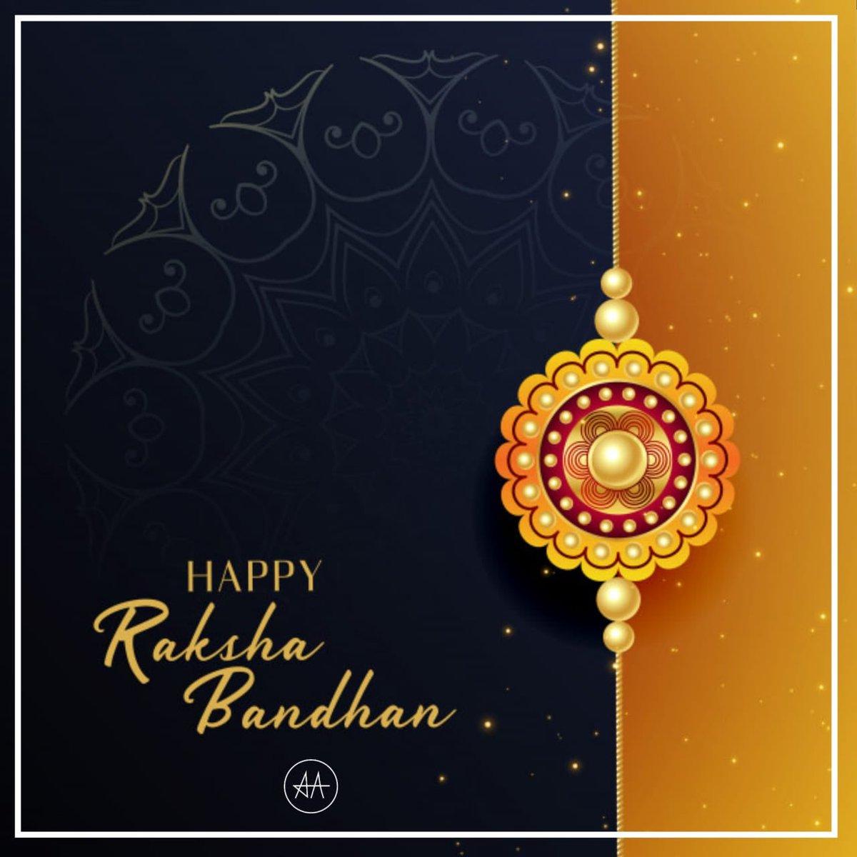 Happy Raksha Bandhan https://t.co/b28TxhezSB