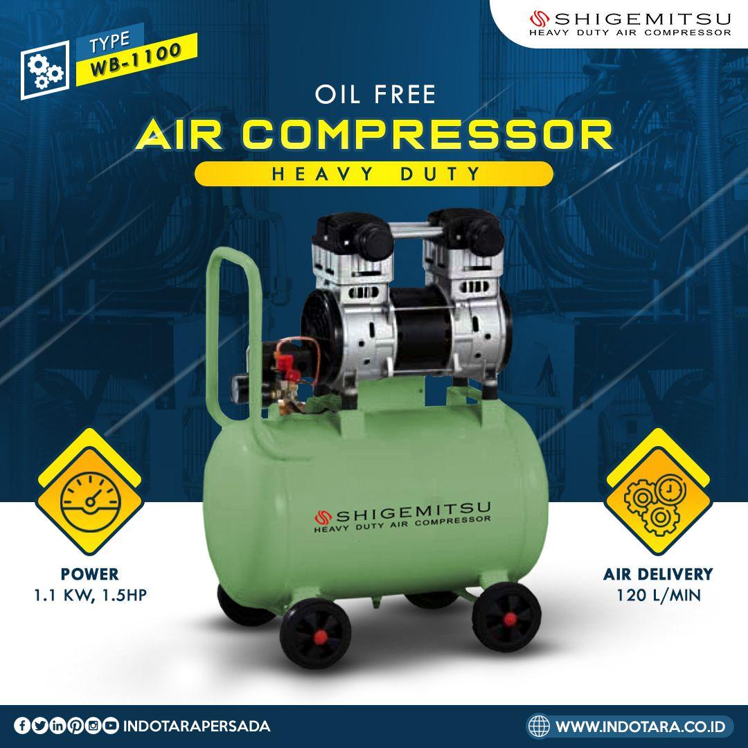 Kompresor Udara dengan Oil Free  Link Produk: https://buff.ly/2y1h4kh  #indotara #ptindotara #ptindotarapersada #indotarapersada #shigemitsu #compressor #kompresor #kompressor #alatteknik #aircompressor #alatteknikmurah #alatindustri #alatbengkel #jualkompresor #kompresoranginpic.twitter.com/G6kHFfMW9v