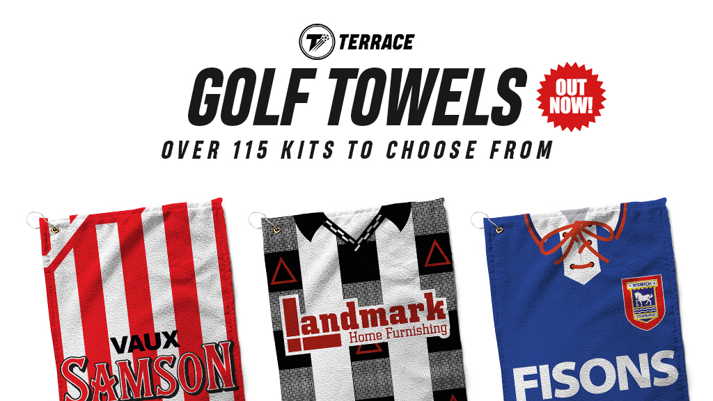 Back on the course? Show your club colours this Summer with our retro kit golf towels! >> terracelife.co! Retweet and tag a mate for your chance to bag one free!