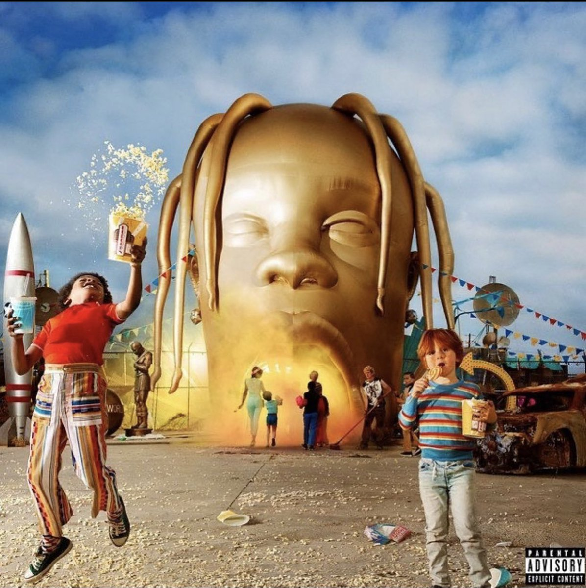 """2 years who today, #TravisScott released 'ASTROWORLD...' featuring the tracks """"Sicko Mode"""", """"Yosemite"""" and """"Butterfly Effect"""". Comment your favorite song off this album below! 👇🎶 @trvisXX #HipHopHistory"""