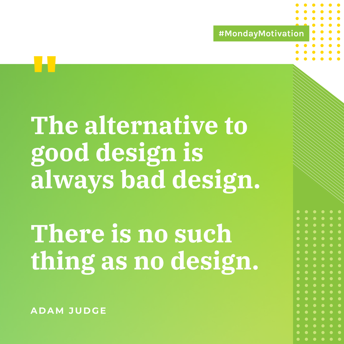 Everything we interact with is designed.✨✍️ Design is functional and shapes the future. #MondayMotivation