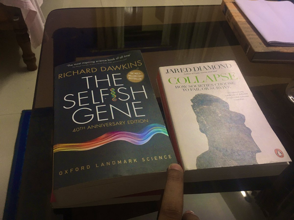 One completed. Another one started. What interesting thing you reading these days !!