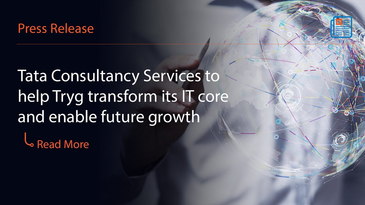 .@TCS' Machine First™ approach will help to transform @TrygIR's IT Infrastructure and help them be future-ready. Discover more: https://t.co/uV5jSzNaY7 https://t.co/PygsdWwgxv
