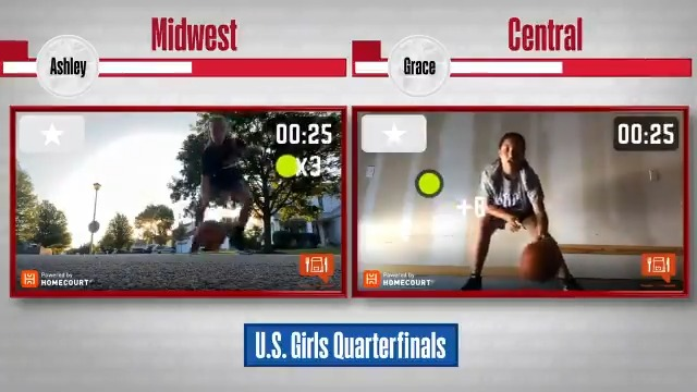 One spot left in the U.S. Girls Semifinals‼️  Midwest vs. Central 🏀   See who took home the win in the @S10Bird Challenge and booked a spot in the semifinals! #WholeNewGame https://t.co/X663qFmSFy