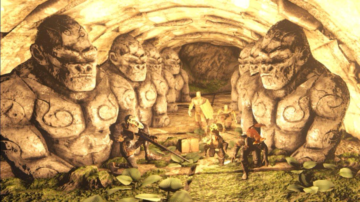 ARK日記⑨6つある内の洞窟の一つ、『猿の遺跡』を踏破した。参加者はPETAさん、カピバラさん、たけさん、まぴにゃん、そして第二陣でかなちょんさんが来て、実質メンバー全員で攻略できた。二枚目のお宝が眠っていたのだが、形がアレでウニか?と思った。初めての集団行動楽しかった。