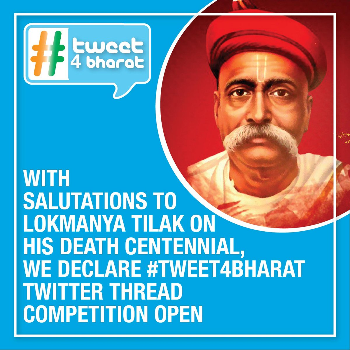Do you like writing threads on @Twitter? Do participate in Indias first Twitter Thread competition #Tweet4Bharat and win attractive prizes! Encouraging Positivity on @TwitterIndia