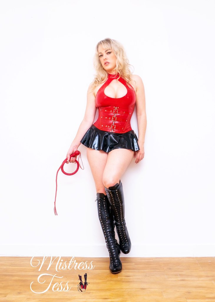 @Femdom__World with @mistresstess1 WEBSITE mistress-tess.co.uk TWITTER twitter.com/mistresstess1