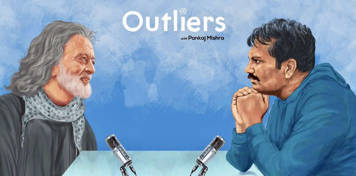 """Outliers podcast @factordaily Season 5 Finale with @luckyali   Tune in this Friday to hear life lessons from Lucky Ali.   I personally enjoyed this conversation a lot because of the """"रूहानियत"""" in it, the abandonment of it and overall sense of a nomadic  pursuit of the unknown🙏 https://t.co/IPHDy9EHeD"""