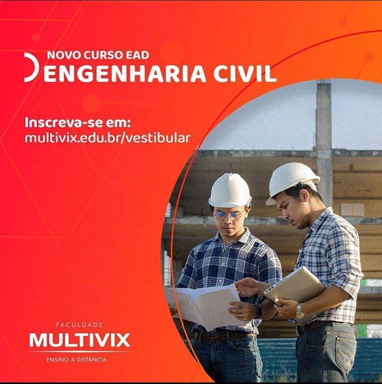 Engenharia Civil é na Multivix.  #multivix #multivixbarradesaofrancisco #multivixsaofrancisco #educacao #estudaqueavidamuda #faculdademulvix #entreasmelhoresdopais #ensinodequalidadepic.twitter.com/UOraTdN7gL