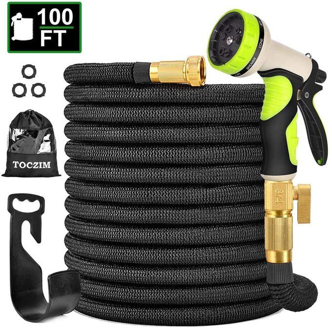 STEAL!!  100ft Garden Hose Bundle for $29.99, retail $49.99!!  *coupon PLUS code; 30E2W8BS