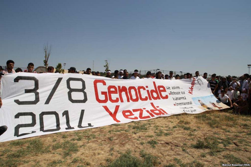 #YazidiGenocide