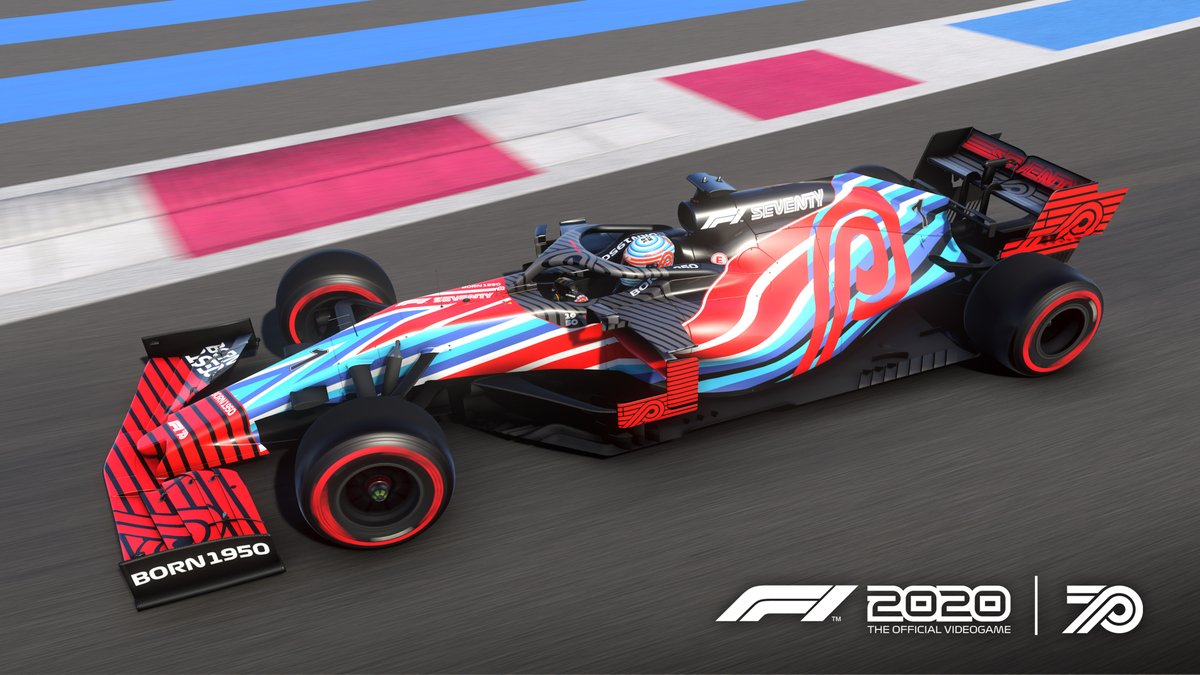 🏎️ 70th Anniversary Grand Prix = livery equipped  Suit up - show us your 📸 with the special 70th anniversary livery!  #F170 https://t.co/LZAhkQBXVx