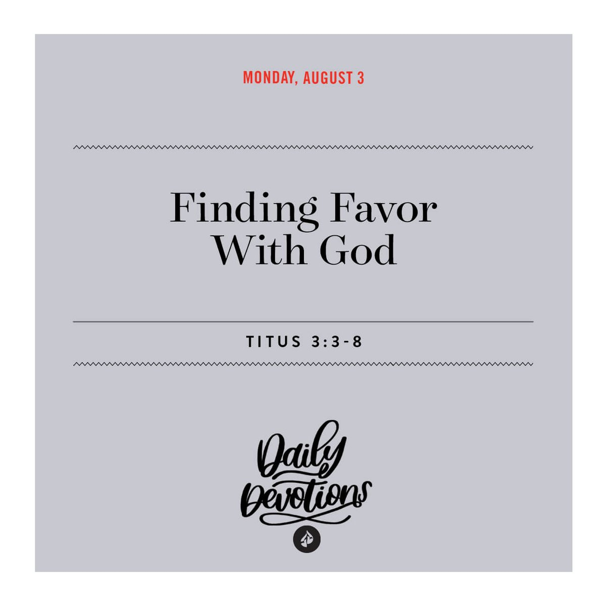 We could never earn Gods favor on our own, so Jesus gave us His righteousness. #Devotional ow.ly/Il7R30r1XQ3