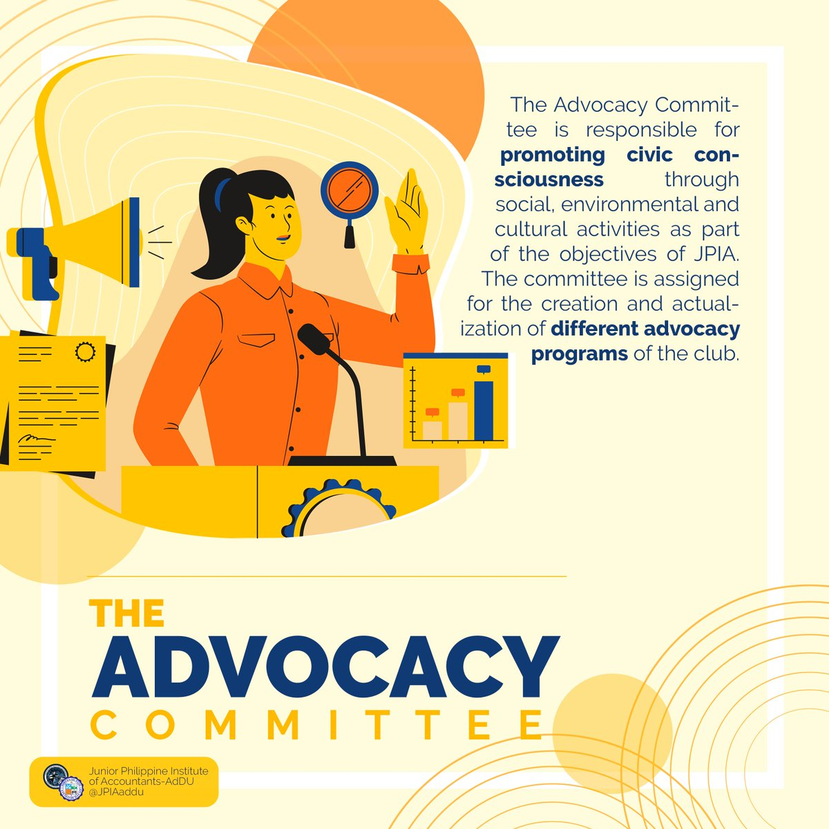 Advocacy Want to become the voice of the unheard?  Join Advocacy Committee and continue inspiring people!    Contact us via Twitter or Facebook for more info and details. pic.twitter.com/cFRRVmnlXV