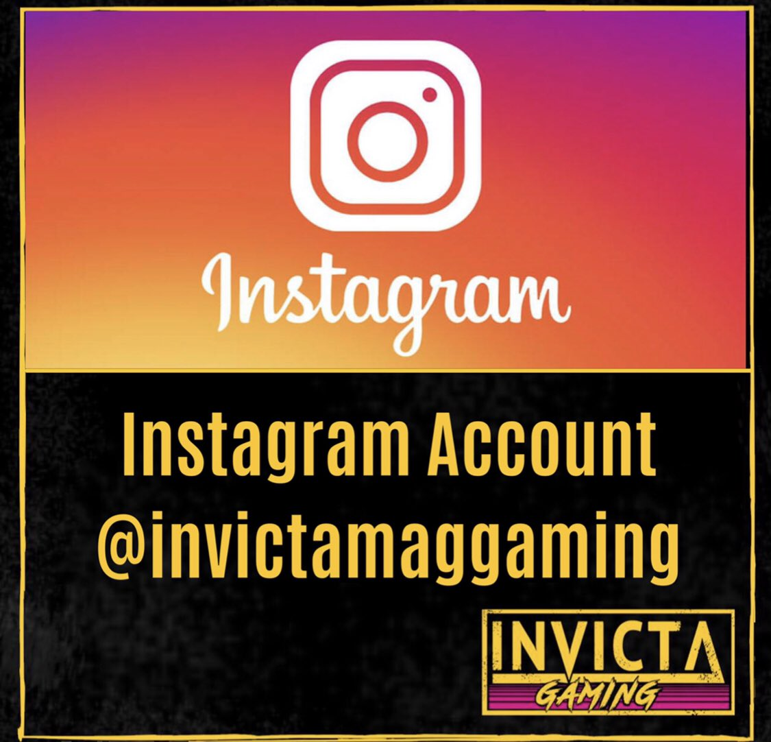 INSTAGRAM   Monday's come around so fast don't they?  If you would like some busy thumb work to get you through be sure to follow our Instagram for more posts and stories.  https://www.instagram.com/invictamaggaming/ …  #instagram #instagramers #gaming #socialmedia #gamerspic.twitter.com/GxR0KpVh3S
