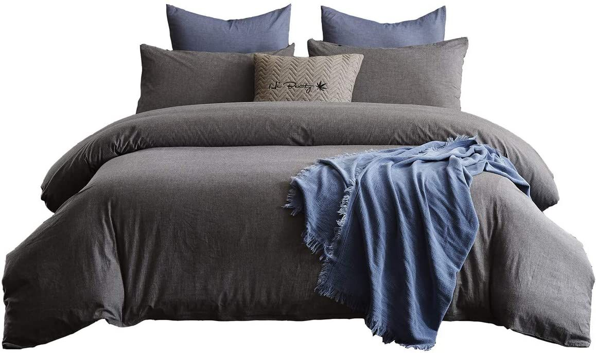Queen and King Duvet Cover Set for $24.99!!!  50% off with code; CIG65JFC