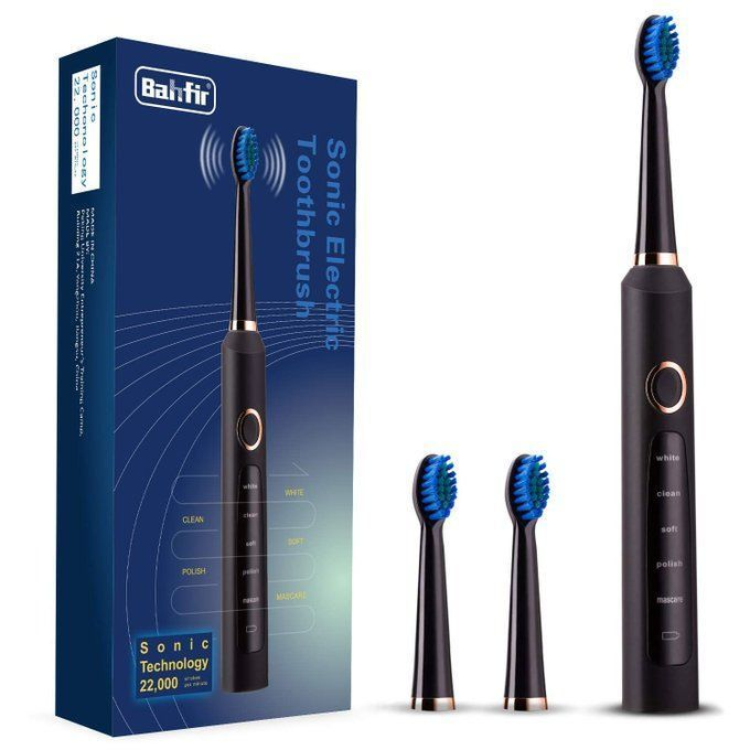 Sonic Electric Toothbrush Bundle for $13.99!  Use promo code; 50IQ7UQP
