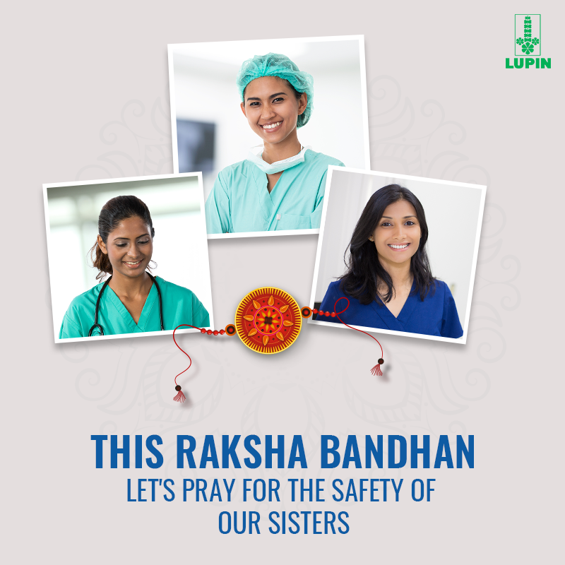 The nurses have been at the forefront of our battle against COVID-19. Lets salute their efforts and wish for their safety on this auspicious day. #RakshaBandhan #Love #Sibilings #Bond #RakshaBandhan2020