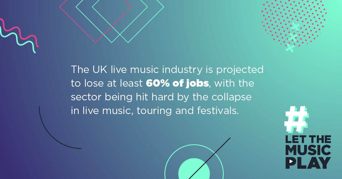 We continue to support the UK music industry. #LetTheMusicPlay