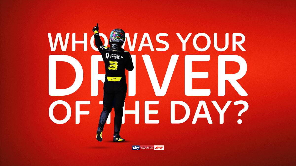 Who got your vote? 📮  #SkyF1   #F1   #BritishGP 🇬🇧 https://t.co/3Dwsq8FL8P