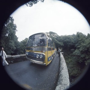 fishlens pictures taken while the beatles were filming their movie magical mystery tour