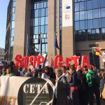 Image for the Tweet beginning: #CETA was rejected by the