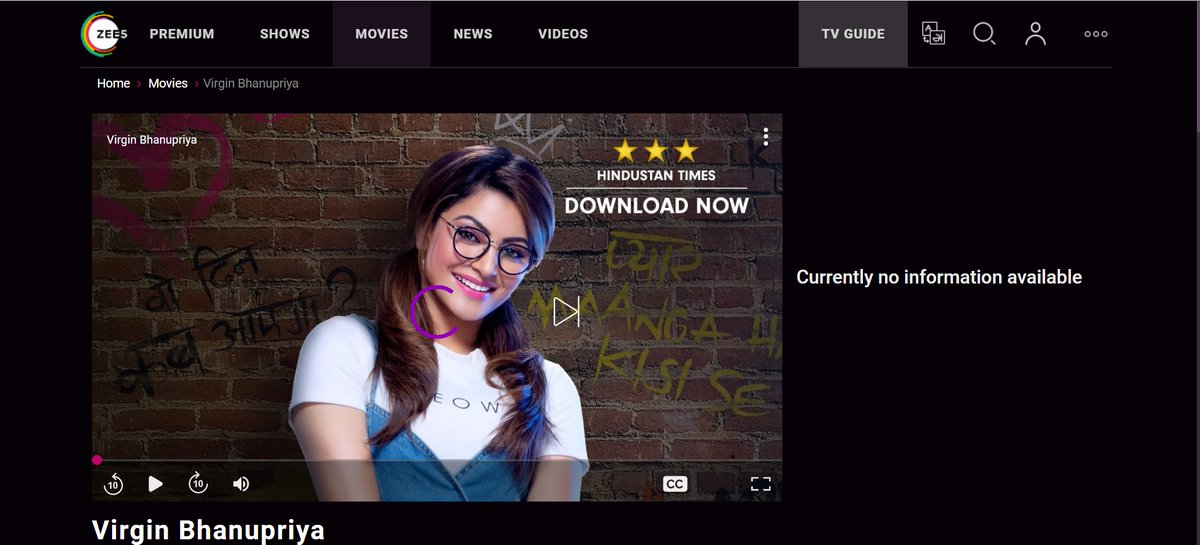 Supporting @UrvashiRautela by watching her latest #ZEE5 exclusive film, #VirginBhanupriya.  Back in 2016, she accepted my photo request at #SIIMA in Singapore. This is what I can give back to her.  #VirginBhanupriyaOnZEE5 https://twitter.com/Muhd_Shariff/status/748605615941947392…pic.twitter.com/udauTUHjvB