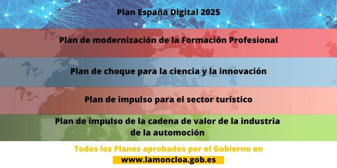Twitter La Moncloa. ▪️Ciencia e innovación ▪️Modernización ...: abre ventana nueva