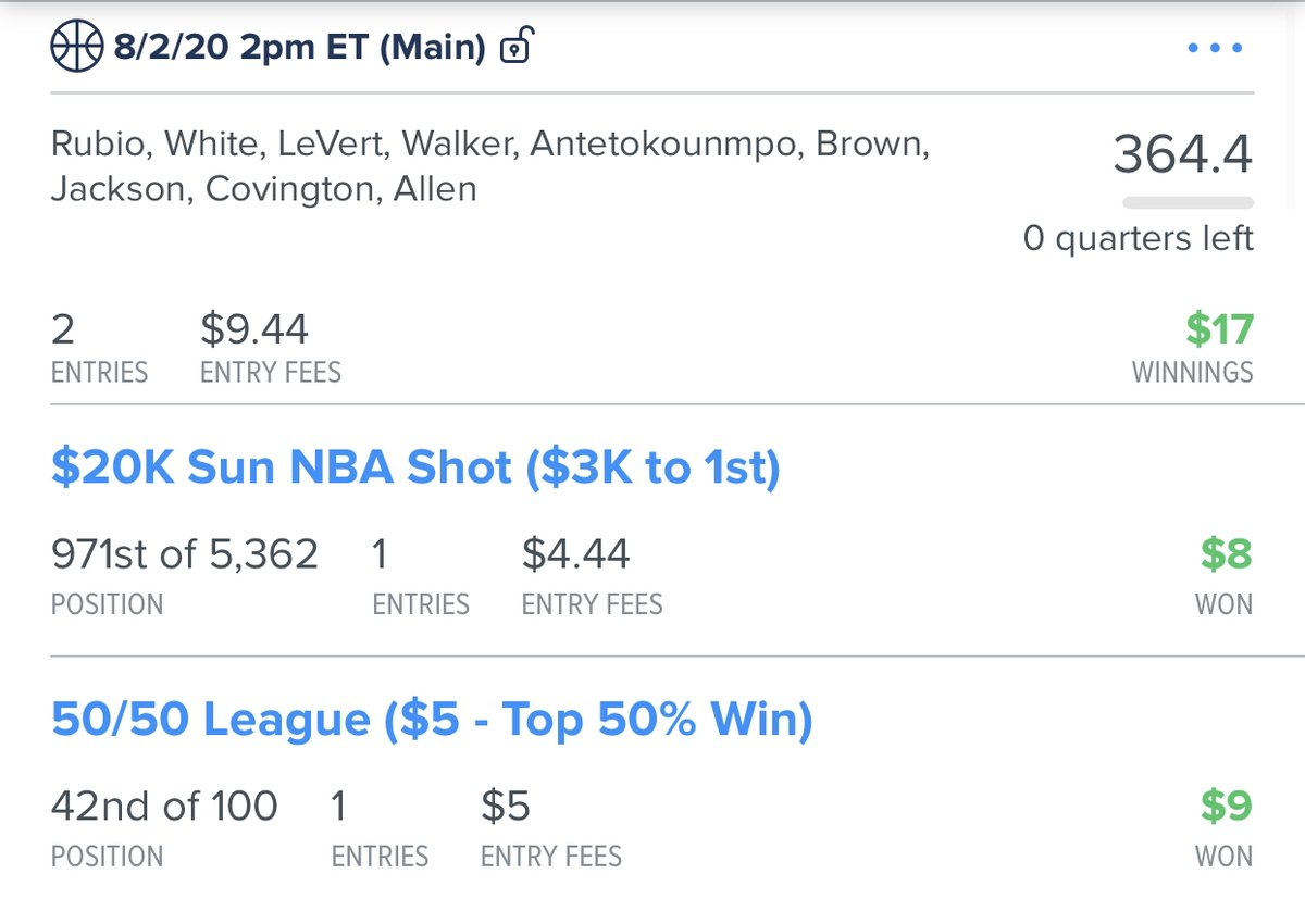 Join #FREE http://zpr.io/tk4Hy as another #win was just posted for Team Prime!  The #best #DailyFantasySports #DFScontent !  is http://zpr.io/6c8WF    NBA Main#GPP #fanduellineups #basketball   #FanDuel #DraftKings #DFS #sportspicks #NBA #NFL #MLBpic.twitter.com/cgbZYAlkeR