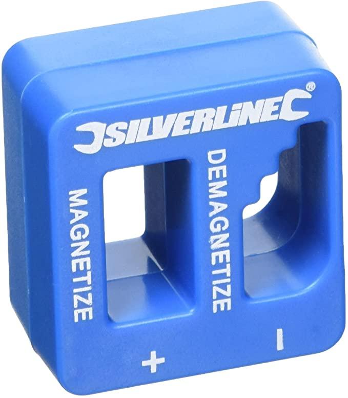 Silverline 245116 Magnetiser Demagnetiser 50 x 50 x 30 mm - £3.54