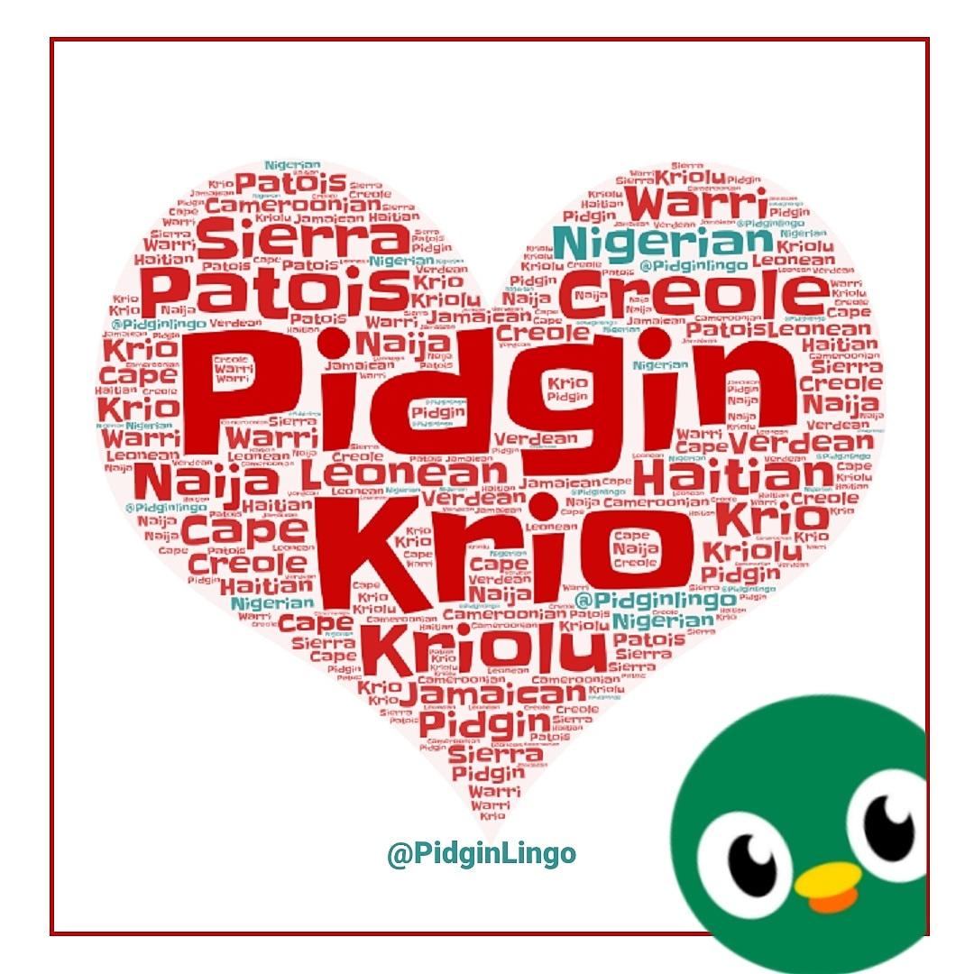 Howfar? Wetin dey? Wetin be #Pidgin #Krio #Creole #Kriolu & #Patios  Abeg come shook mouth!   #PidginLingo #NaijaPidgin #NigerianPidgin #PidginEnglish #LearnPidgin https://t.co/FNyzcHebKz