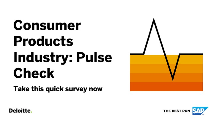 SAP and Deloitte are conducting a pulse check to better understand how our clients are managing these unprecedented times. We want to learn the overall impact COVID-19 has had on your organization and how we can help. Take the survey now! 👉 https://t.co/3Siuyw7wqI https://t.co/hwxOIAwgIZ