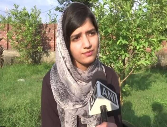 #Inspiration #PrideofKashmir  Meet 𝐈𝐫𝐦𝐢𝐦 𝐒𝐡𝐚𝐦𝐢𝐦 the first girl from the #Gujjar community to crack the #AIIMS entrance exam. She belongs to a small village of Dhanore bordering #Rajouri district. Irmim had to travel 10 kilometers to attend school.#Kashmir #goals #life https://t.co/xaTzQZVTI4