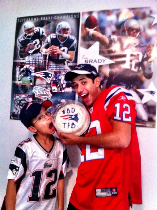 Tom brady s birthday was a huge deal in my household growing up. miss you happy birthday!