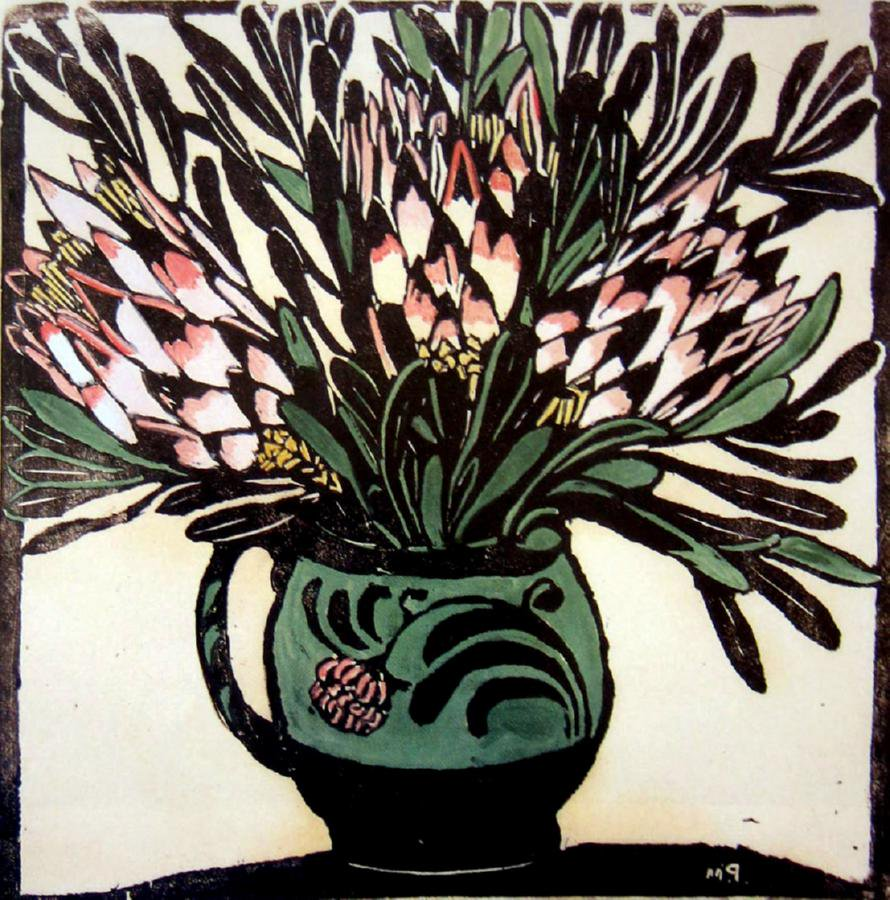 Margaret Preston (1875-1963), Australian painter/printmaker, one of Australias leading early modernists #womensart