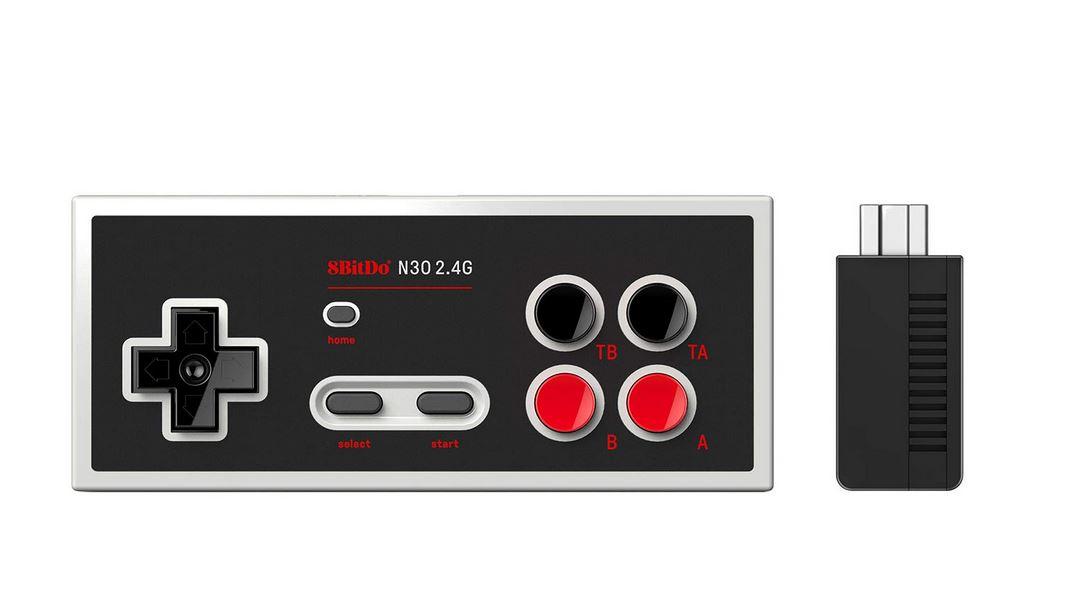 8Bitdo N30 2.4G Wireless Gamepad for NES Classic Edition $19.60 via Amazon (Prime Eligible).