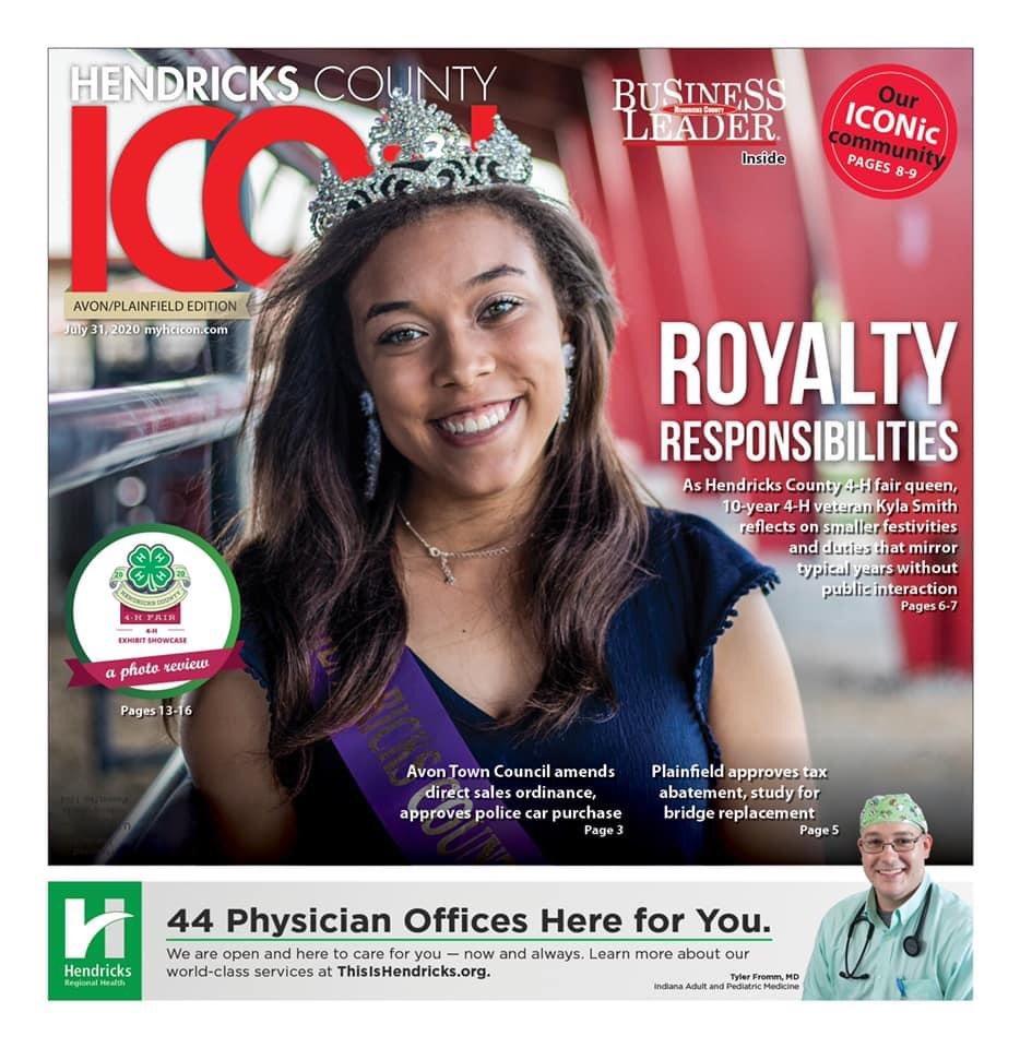 Royal Responsibilities, 10-year Hendricks County 4-H Fair @HC4Hfair veteran and Plainfield graduate Kyla Smith earns queen crown.   Article: https://t.co/LWHcZR6H8z  #HendricksCo4h #Queen #COVID19 #PlainfieldIndiana, #inHendricks #DanvilleIndiana #ALLinHendricksCounty https://t.co/1hND2lUswp
