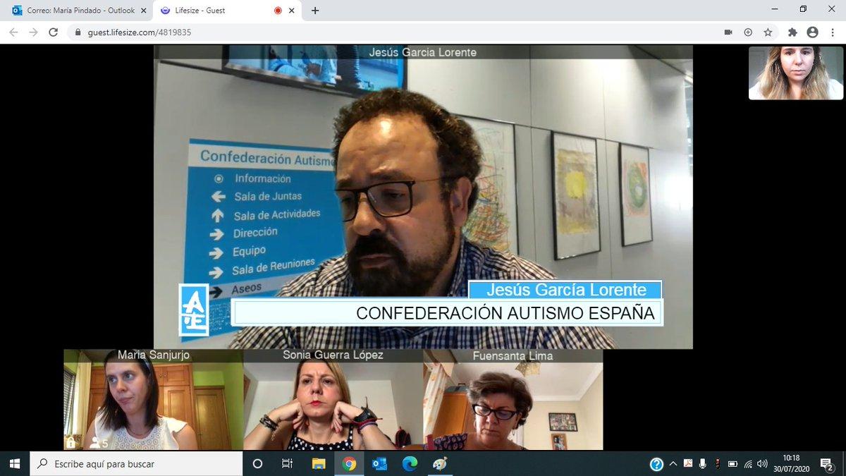Nos hemos reunido con @SonyaGuerraLpz, portavoz de la Comisión de #DerechosSociales del @Congreso_Es, y @fuensantalima, de @gpscongreso, para trasladar el impacto socioeconómico del #COVID19 en las personas con #TEA y el tejido asociativo del #autismo https://t.co/rRNF4bNODm https://t.co/DhlfJEpexo