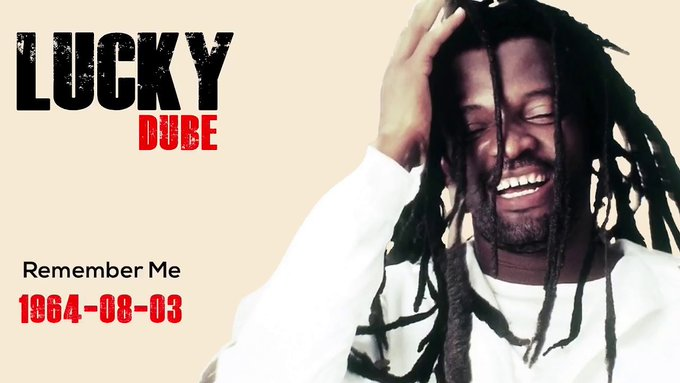 Happy Birthday Lucky Dube This is a small tribute to your life and what you stood for! Gone but never forgotten!