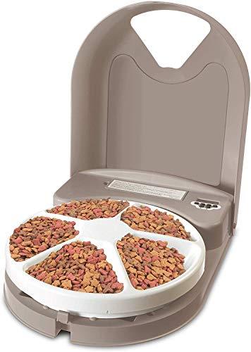 PetSafe - Distributeur de Nourriture et Croquettes Automatique Eatwell 5 Repas de 200gr pour Animaux, Système Programmable Rotatif, Ecran LCD, Sans BPA, Antidérapant, Lavage Facile / pour Chien, Chat - http://canape-pour-chien.com/?p=1032&wpwautoposter=1596457819…pic.twitter.com/k6CvZxeCWY