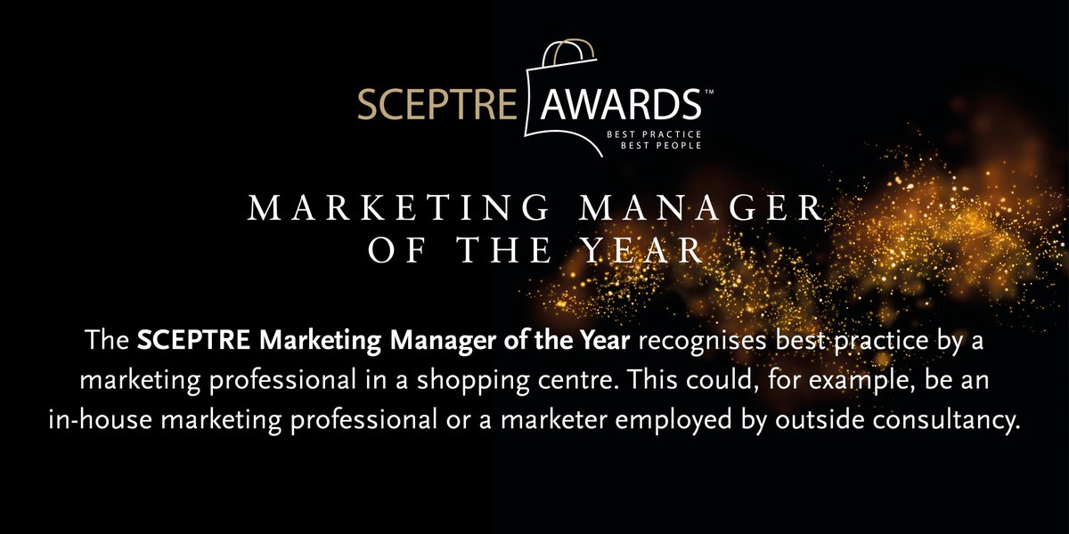 #Award8of18 #SCEPTREAwards   Enter Online Today! Deadline is Friday 14th August! #shoppingcentre #retail To read more about the event, the other categories and submit your entry, follow the link below https://sceptre-awards.co.ukpic.twitter.com/3JOGbEviyE