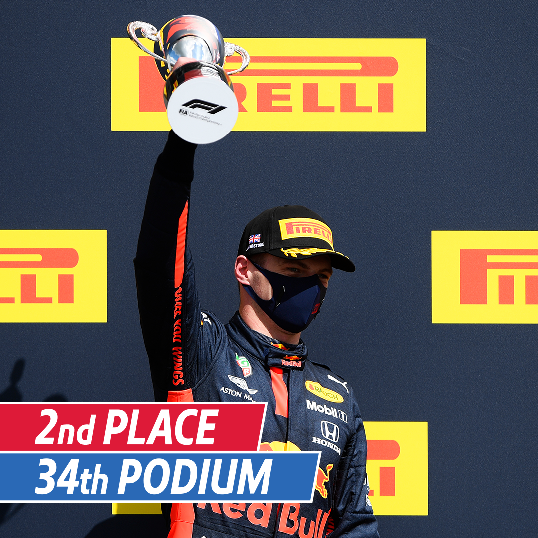 Fastest Lap ✅ 2nd Place Finish ✅ 1000 career points ✅  An incredible weekend of racing for @Max33Verstappen and @redbullracing. Can #MV33 go one better next week? 🤔  #KeepPushing #UnleashTheLion #BritishGP https://t.co/mkMN0qvmmO